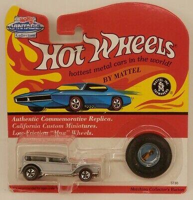 Hot Wheels Vintage Series The Demon Show Car Light Grey (