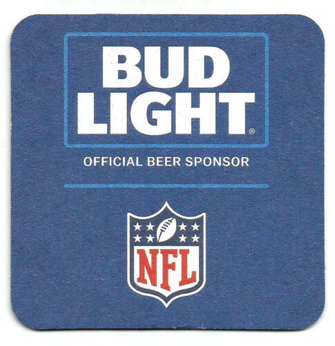 15 Bud Light Official Beer Sponsor Of The L.A.Rams  Beer Coasters  NFL