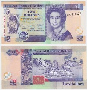 Belize-NEW-2-Dollars-2014-UNC