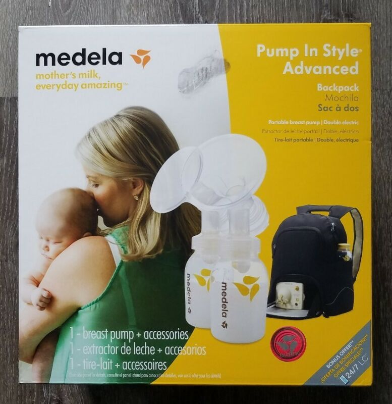 New MEDELA BACKPACK Travel DOUBLE PUMP In STYLE Advanced