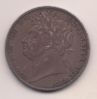 1820 Great Britain Silver Half Crown---George IIII---Exceptional Detail  - $58.00