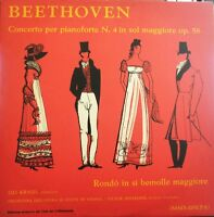 Beethoven Concerto Per Pianoforte N. 4 Op. 58 Kraus Mms 2192 Pa Disco 33 Giri Lp -  - ebay.it