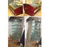 Cafe Shop Business for sale (Display fridges, Multi Deck Freezer & Standing Display Fridge, Tables)