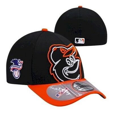 New Baltimore Orioles Era Mens On-Field Clubhouse 39Thirty Flex Fit Cap Hat