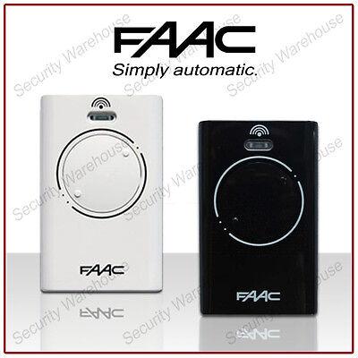 FAAC XT2 868SLH 2 Button Key Fob REMOTE CONTROL Transmitter Electric Gate Garage