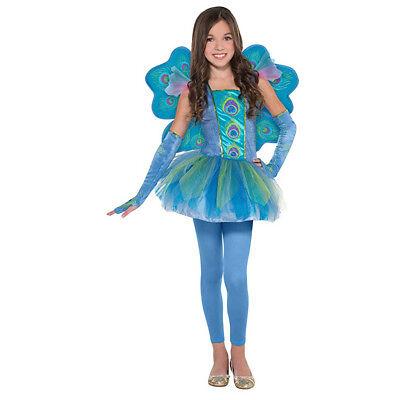 Amscan Peacock Princess Girls Costume - Size Large (12-14)