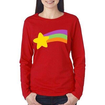 Gravity Falls T-shirt Mabel Pine Halloween Costume Men Kids Women Long Sleeve](Mabel Gravity Falls Costume)