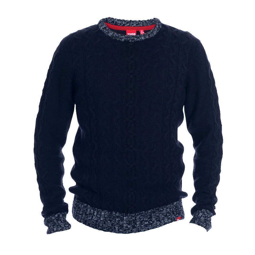 New Men/'s Mens King BIG /& TALL Knitwear crew neck 100/% Cotton Long manche Jumper