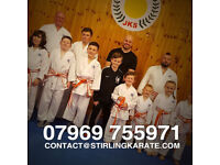 KARATE CLASSES - classes in Alloa for all the family