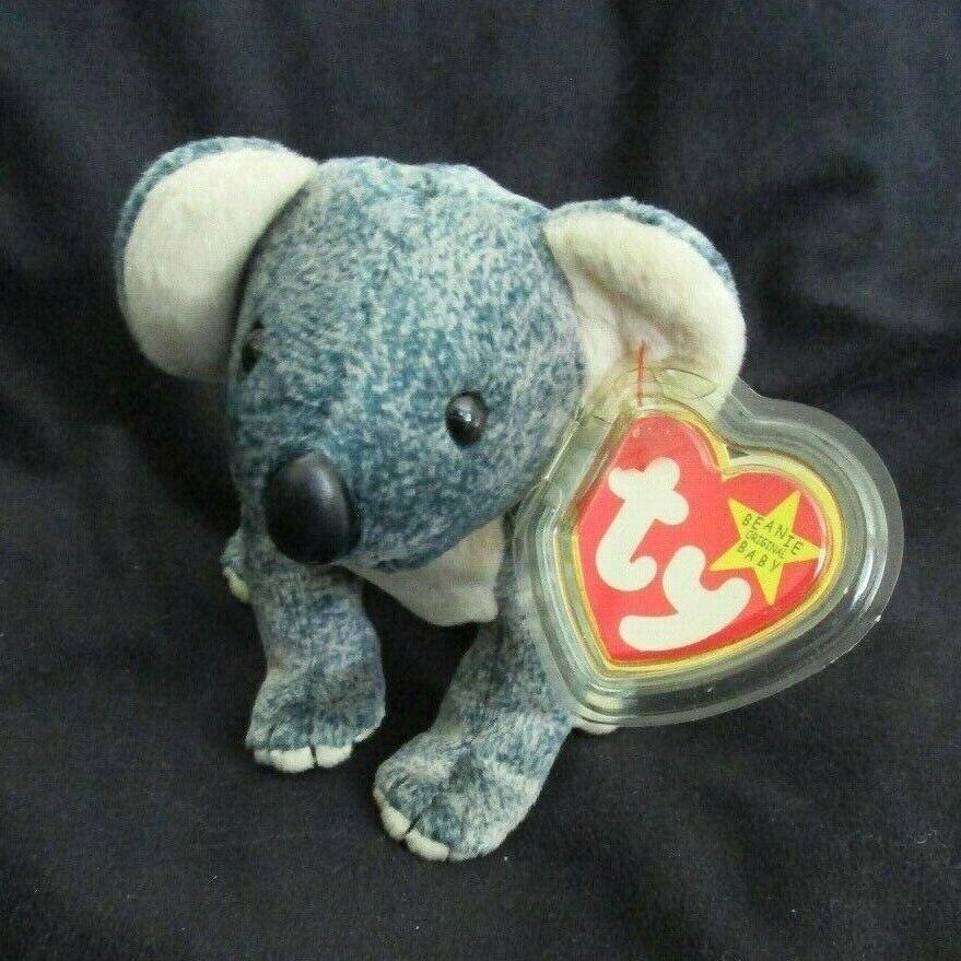 TY Beanie Babies Koala Teddy Bear  ** EUCALYPTUS ** 5th Gene