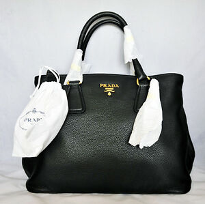 prada large vitello daino shopping tote