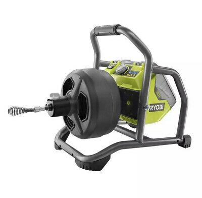 Ryobi 18-volt One Hybrid Drain Auger Kit With 50 Ft. Cable 2.0 Ah Battery