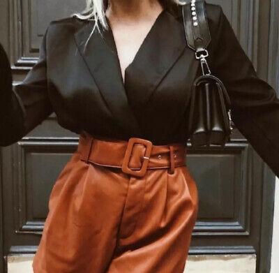 ZARA Satin-Like  Bodysuit