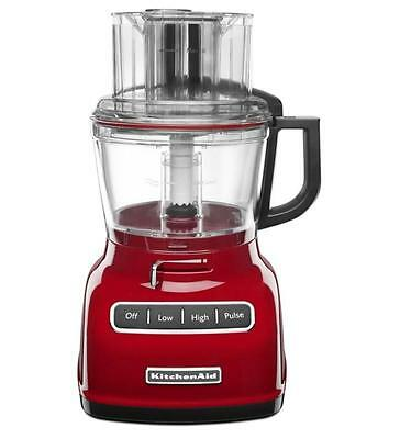 Kitchenaid 9 Cup Wide Mouth Food Processor Rr Kfp0930 Large Exact Slice 11 Color