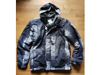 Brand New Mens Snowboard Jacket with Tags, Size Medium, 5000mm waterproof