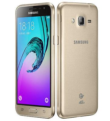 BRAND NEW SAMSUNG GALAXY J3 6 DUAL SIM  8GB 4G LTE SMART PHONE GOLD UNLOCK 2016