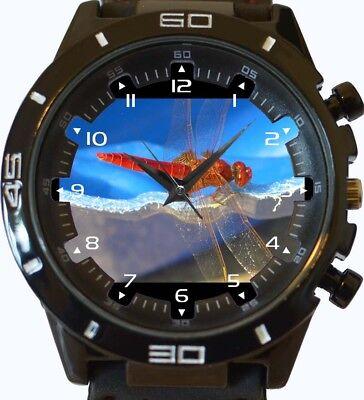 gel NEU GT Serie Sport Unisex Armbanduhr (Drachen Fliegen, Flügel)