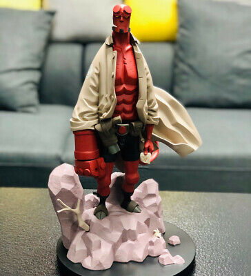 1/6 Scale Hellboy Statue Figurine Not Ferocious Studio FS Collectible Comics Ver