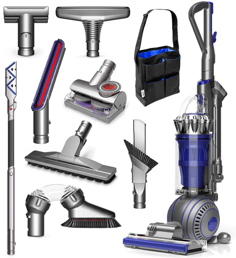 Dyson Ball Animal 2 Total Clean Upright Vacuum Blue
