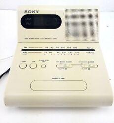 Sony ICF-C770 - AM/FM Clock Radio - Dual Alarm & Tilt Display