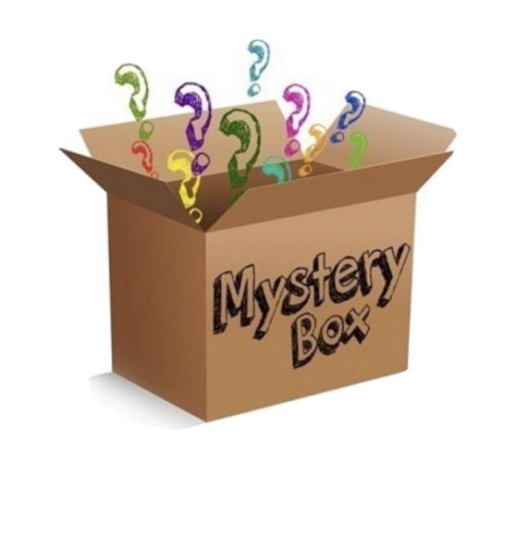 Mystery Box -Blue Ray Movie?, disney,Holiday Decor, Cards,Gadgets ,etc Fun Stuff