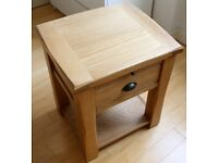 LIKE NEW - Brooklyn 1 Drawer Bedside Table by Homestead Living