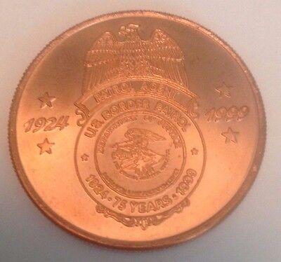 U.S. Border Patrol 75th Anniversary Commemorative Coin Memorabilia