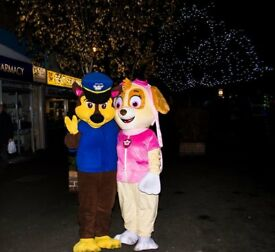 paw patrol mascot costume in derby