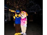 paw patrol mascot costume in derby