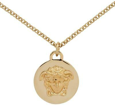 New Versace Medusa Chain Necklace