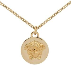 bd847860911 New Versace Medusa Chain Necklace