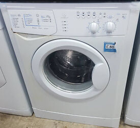 U334 white indesit 6kg 1200spin washing machine comes with warranty can be delivered or collected