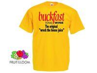 funny buckfast t-shirt