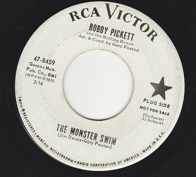 HALLOWEEN 45 RPM BOBBY PICKETT ON RCA RECORDS  (PROMO) - SOUND CLIP AVAILABLE - Halloween Sounds Clips