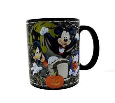 Disney Halloween Coffee Mug Who's Scared Vampire Mickey Mouse And Friends Cup