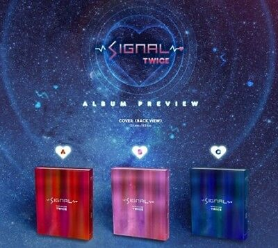 TWICE Signal 4th Mini Album Random Ver CD+PhotoBook+Photocard KPOP Sealed