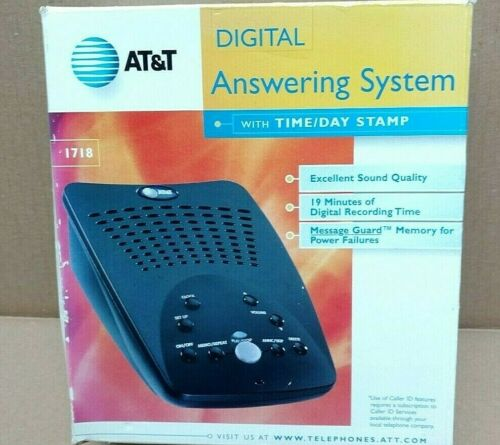 NEW in box  AT&T Digital Answering System Black 1718