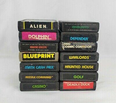 Lot of 14 Atari 2600 games