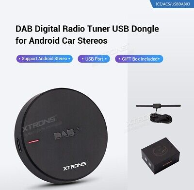 DAB+ Digital Radio Tuner USB Dongle for Android Car Stereo XTRONS USBDAB03