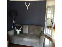 Next Pair 3 seater Sofas including Sofa bed perfect condition!