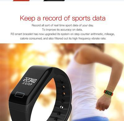 Proworks Fitness Tracker Pedometer Best Step Counter Activity Running Fit Watch ()