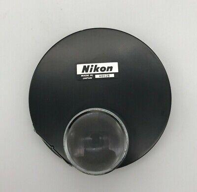 Nikon Microscope Phase Contrast Dark Field Condenser 0.4  10 20 40 100