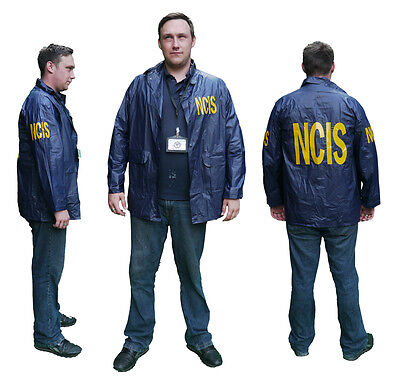 "US NAVY ""NCIS"" Agent's Windbreaker / Raincoat JACKET - Fancy Dress - Choice Lot"