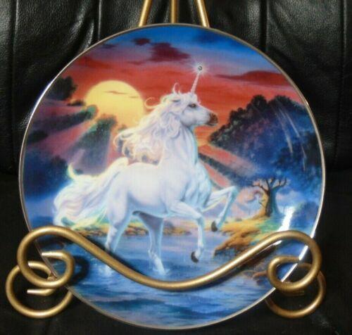 BEAUTIFUL Franklin Mint Limited Edition Dance of Diamond Unicorn by Steve Reed