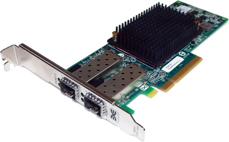 Dell Emulex OCE10102-IX-D 10Gbps Dual PCIe iSCSI 1YXTT
