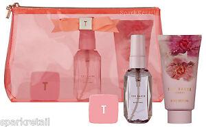 Ted Baker MINI BEAUTY BAG Trio Gift Bag PINK Body Lotion/Spray & Lip Balm