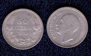 BULGARIA-50-LECTA-ARGENTO-500-1000-1930-BB-SPL-mrm