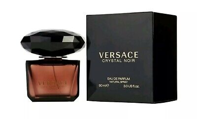 Versace Crystal Noir Eau De Toilette Natural Spray For Women 3.0 Oz
