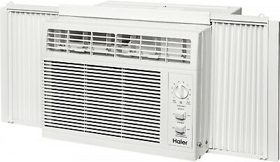 Haier Air Conditioner Unit 5,000 BTU Window Mount Kit Cooling AC Adjustable