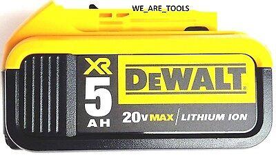 1 New Genuine Dewalt 20V DCB205 5.0 AH Battery For Drill, Saw, Grinder 20 Volt